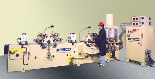 dcp-scht four color cap printer from Desco