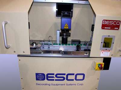 Desco DUTCLP Laser Printer for marking inside caps and closures